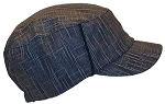 David & Young Mens Elastafit Cross Textured Cadet Hat