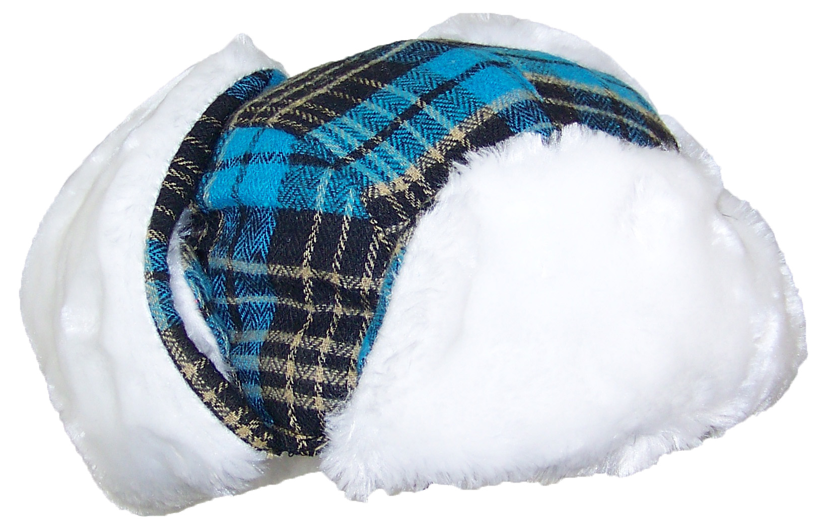 Best Winter Hats Big Kids Quality Tartan Plaid Russian Trapper Hat W ... aa1ee9f5df8