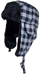 Best Winter Hats Big Kids Plaid Russian/Aviator Winter Hat