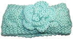 Best Winter Hats Baby Cable Knit Headband/Ear Warmer W/Flower