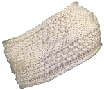 Best Winter Hats Womens Rib Stitch Cable Knit Circle Headband/Warmer