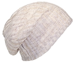 David & Young Womens Solid Color Lightweight Rib Knit Beanie