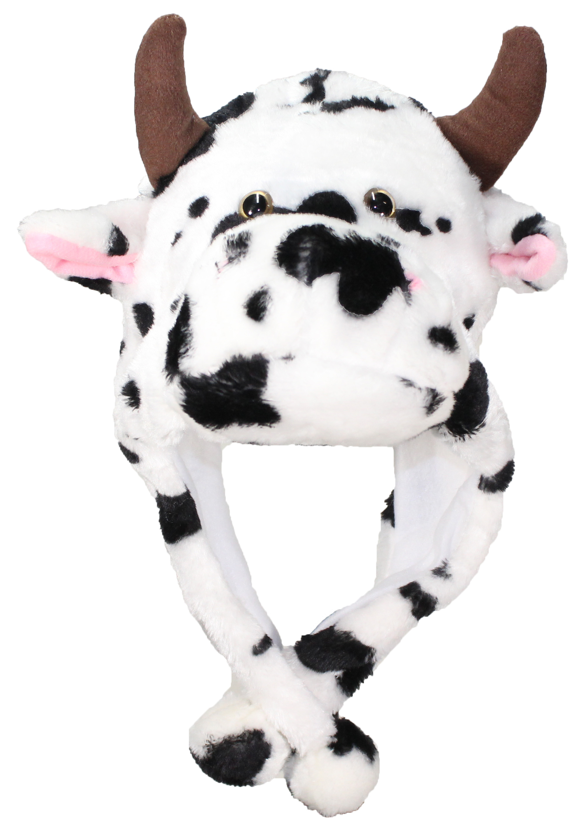 a0f6bf0dc7a Best Winter Hats Adult Teen Cow Animal Character Ear Flap Hat