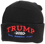 Best Winter Hats USA Made Adult Embroidered Trump 2020 Keep America Great Beanie