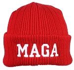 Best Winter Hats Adult 3M 40 Gram Thinsulate Embroidered MAGA Knit Beanie