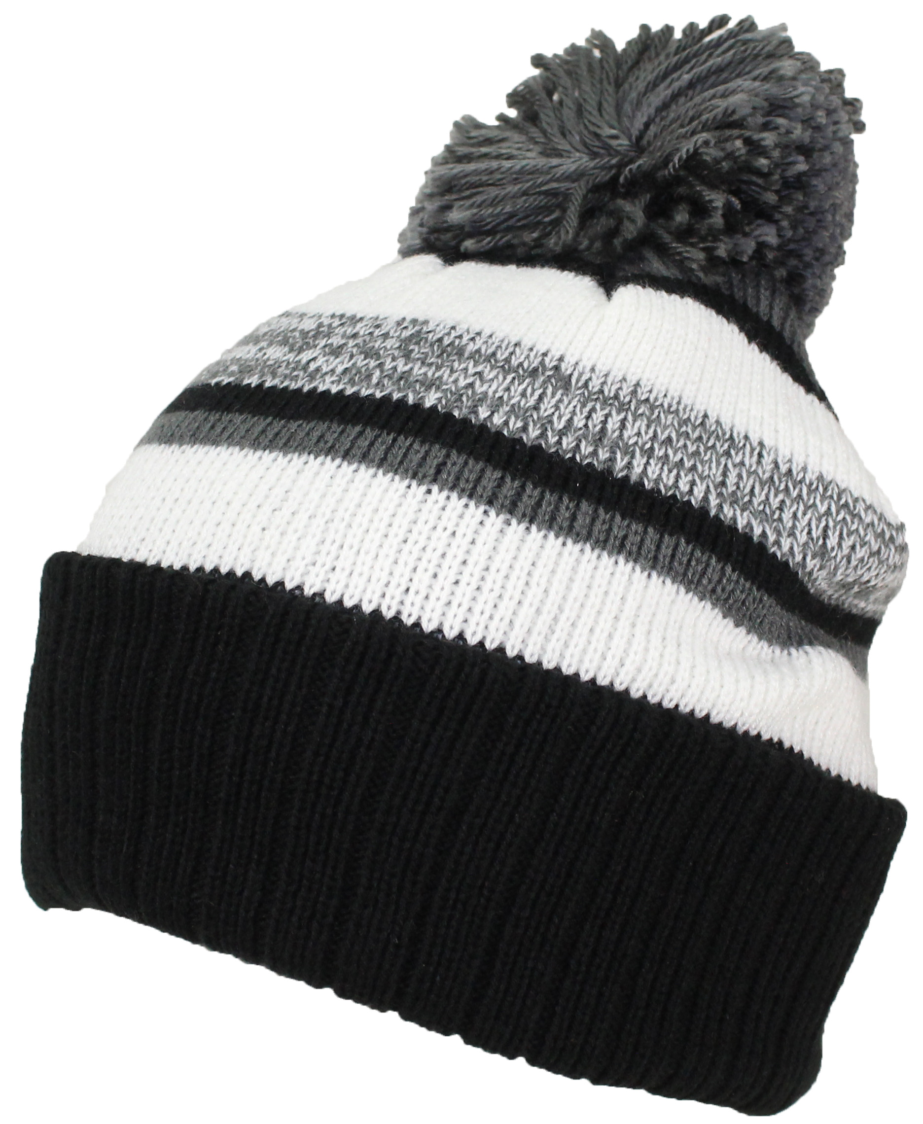 best winter hats quality striped variegated cuffed beanie. Black Bedroom Furniture Sets. Home Design Ideas