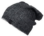 Angela & William Mens Multi-Color Rib Knit Slouch Winter Hat
