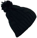 Best Winter Hats Womens Cable Knit Cuffless Winter Hat with 3 1/2