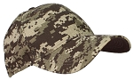 Tropic Caps Adult Unisex Camouflage Cotton Ripstop Adjustable Cap