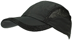 Tropic Hats Adult Lightweight Nylon & Mesh Strapback Ballcap W/Pre-Curved Bill