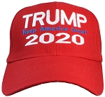 Tropic Hats Adult Embroidered Trump 2020 Keep America Great Adjustable Cap