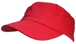 Tropic Hats Adult Cotton Twill Military/Cadet Cap W/Hook & Loop Closure