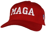 Tropic Hats Adult Embroidered MAGA 45 American Flag Trump Adjustable Ballcap