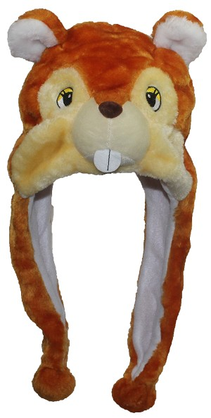 Best Winter Hats Adult/Teen Chipmunk Animal Character Ear Flap Hat