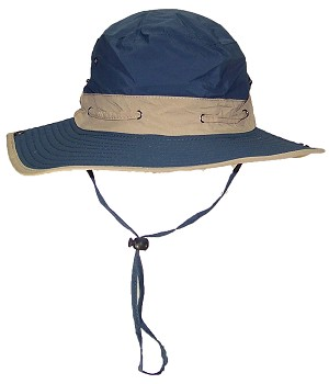 Tropic Hats Adult Boonie Cap W/Air Hole Ventilation & Snap Up Sides
