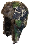 Best Winter Hats Adult Tree Camouflage Russian/Hunters W/Soft Faux Fur Winter Hat