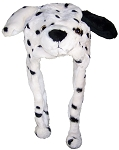Best Winter Hats Adult/Teen Dalmatian Animal Character Ear Flap Hat