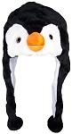 Best Winter Hats Adult/Teen Penguin Animal Character Ear Flap Hat