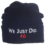 Best Winter Hats We Just Did 46 President Joe Biden Embroidered Knit Beanie
