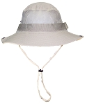 Tropic Hats Adult Boonie Cap W/Mesh Ventilation & Snap Up Sides