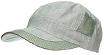 Tropic Hats Adult Lightweight Cotton Tweed & Mesh Cadet Strapback Cap