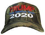 Tropic Hats Adult Camouflage Embroidered Trump 2020 Keep America Great Cap
