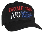 Tropic Hats Embroidered Trump 2020 No Collusion Obstruction Bullshit Ballcap
