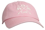 Tropic Hats Womens Embroidered Mom Life 6 Panel Dad Cap W/Strapback