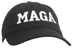 Tropic Hats Adult Embroidered MAGA Trump 6 Panel Ballcap W/Strapback Closure