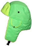Best Winter Hats Big Kids Lightweight Neon Russian/Trooper Faux Fur Hat