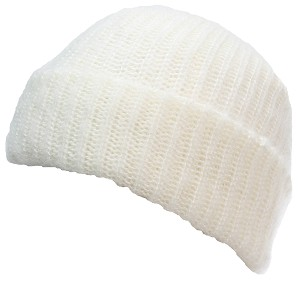 Best Winter Hats Adult Rib Knit Soft Mohair Thick Warm Cuffed Beanie
