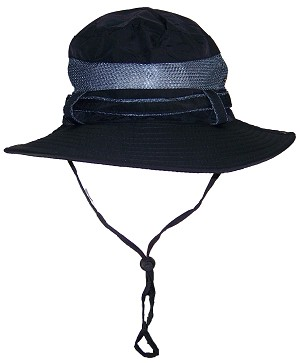 Tropic Hats Adult Boonie Cap W/Mesh Lining & Snap Up Sides
